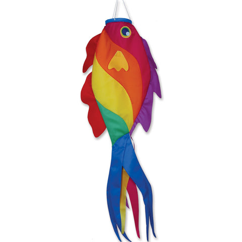52 in. Rainbow Wrasse Fish Windsock