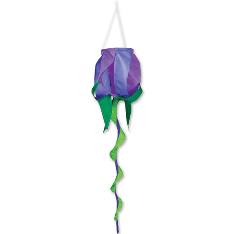 SoundWinds Purple Rose Spinning Windsock