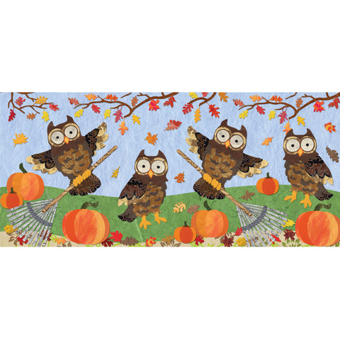 Windsock - Autumn Owls