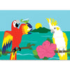 Applique Windsock - Parrot and Cockatoo Party