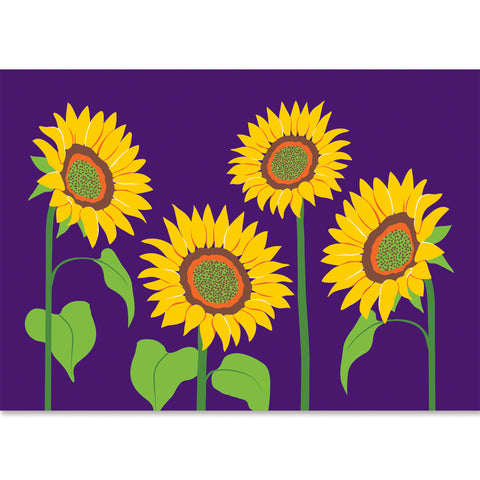 Applique Windsock - Sunflowers