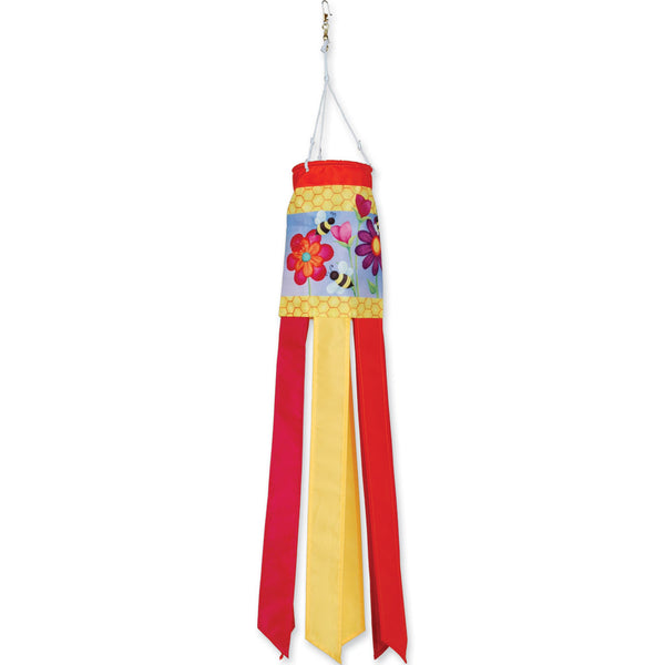 28 in. Windsock - Bee & Flower