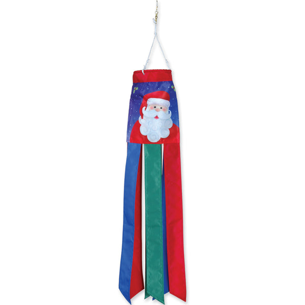 28 in. Windsock - Jolly Santa and Friendly Snowman