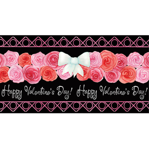 28 in. Windsock - Valentine Wreath