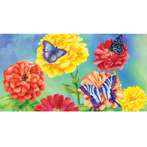 28 in. Windsock - Zinnias