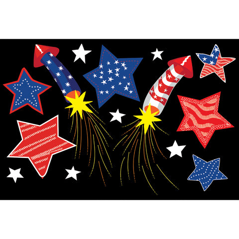 Applique Windsock - Freedom Fireworks