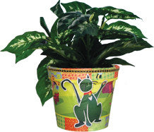 Flower Pot Cover - Kitties at Play