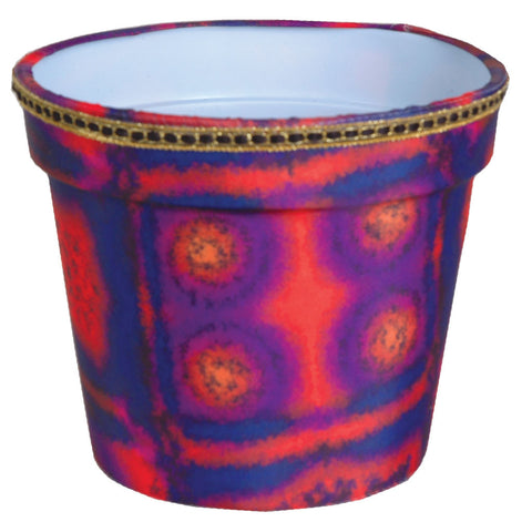 Flower Pot Cover - Aztec Sunrise