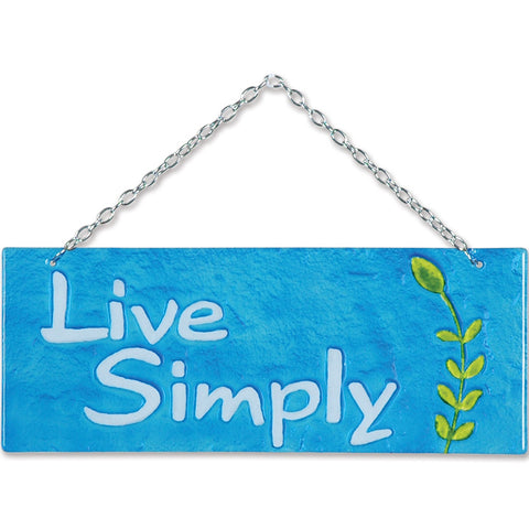Glass Expression - Live Simply