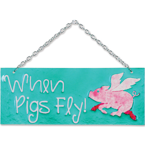 Glass Expression - Pigs Fly