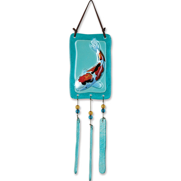 Glass Terra Wind Chime - Koi