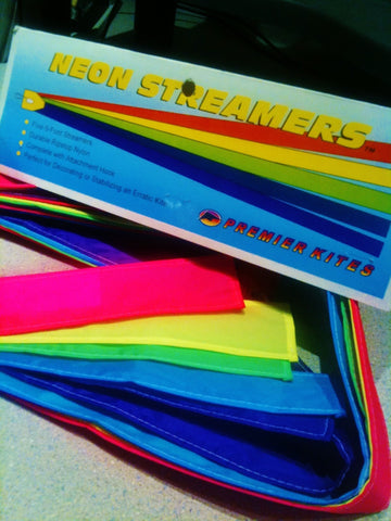 6 ft. 5 Ply Streamers/Neon/Hemmed