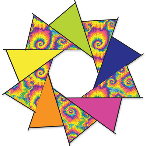40 in. F-Stop Spinner for Kites and Line - Tie Dye