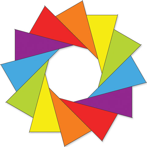 80 in. Rainbow F-Stop Spinner