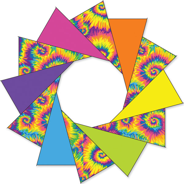 80 in. F-Stop Spinner for Kites and Line - Tie Dye