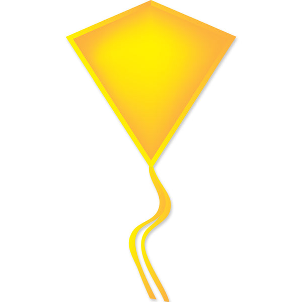 30 In. Diamond Kite - Yellow (Bold Innovations)
