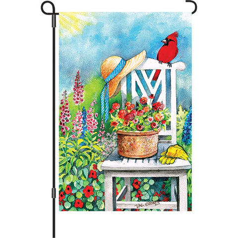12 in. Flag - Gardener's Patch