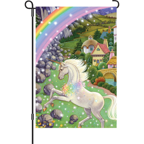 12 in. Flag - Unicorn