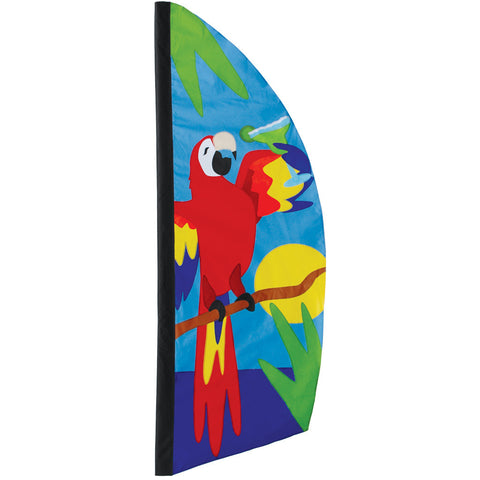 8.5 ft. Feather Banner - Parrot Paradise