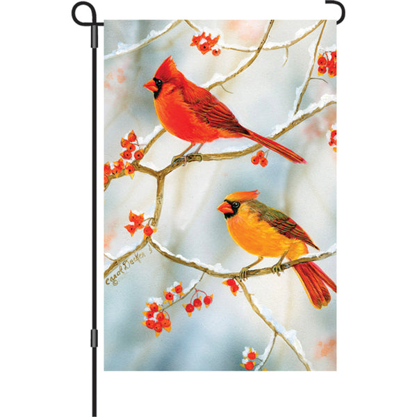 12 in. Flag - Bittersweet Cardinals