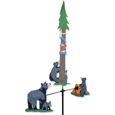 Single Carousel Spinner - Bear & Campers
