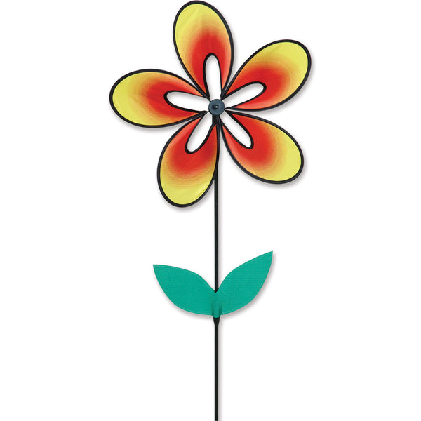 Whirly Wing Flower Spinner - Warm