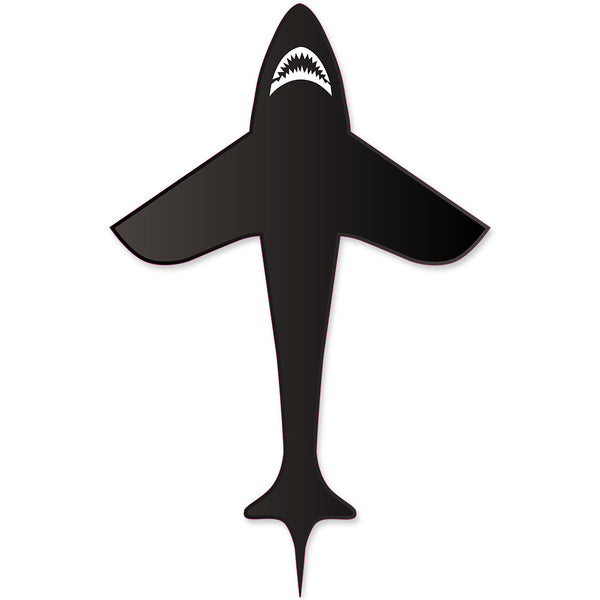 6 ft. Black Shark Kite (Bold Innovations)