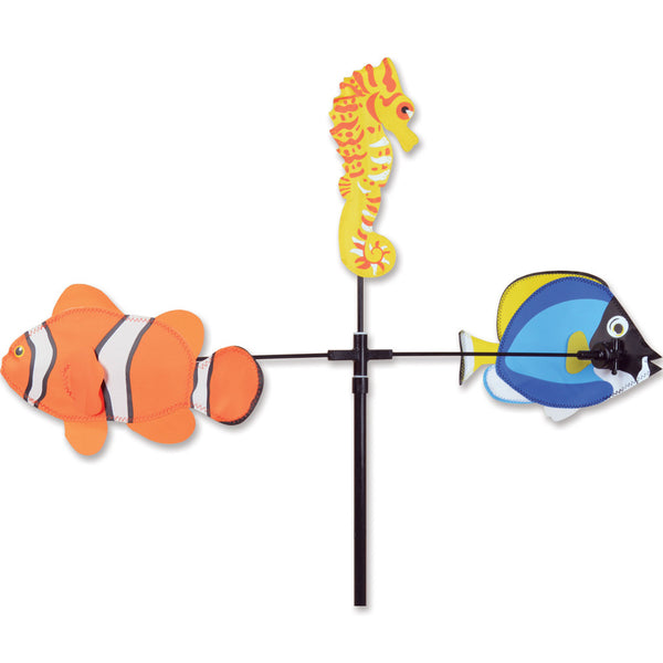 Single Carousel Spinner - Fish