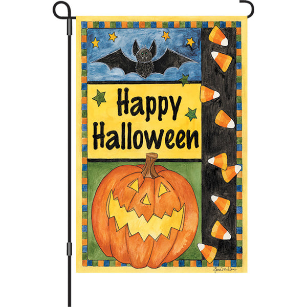 12 in. Flag - Halloween Smiles
