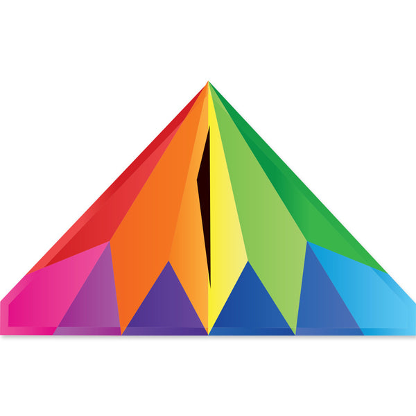 56 In. Delta Kite - Rainbow Prism (Bold Innovations)