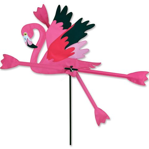 WhirliGig Spinner - Running Flamingo