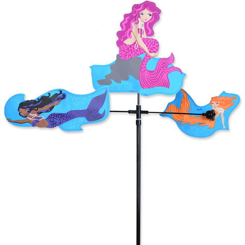 Single Carousel Spinner - Mermaids