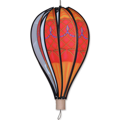 18 in. Hot Air Balloon - Red Vintage