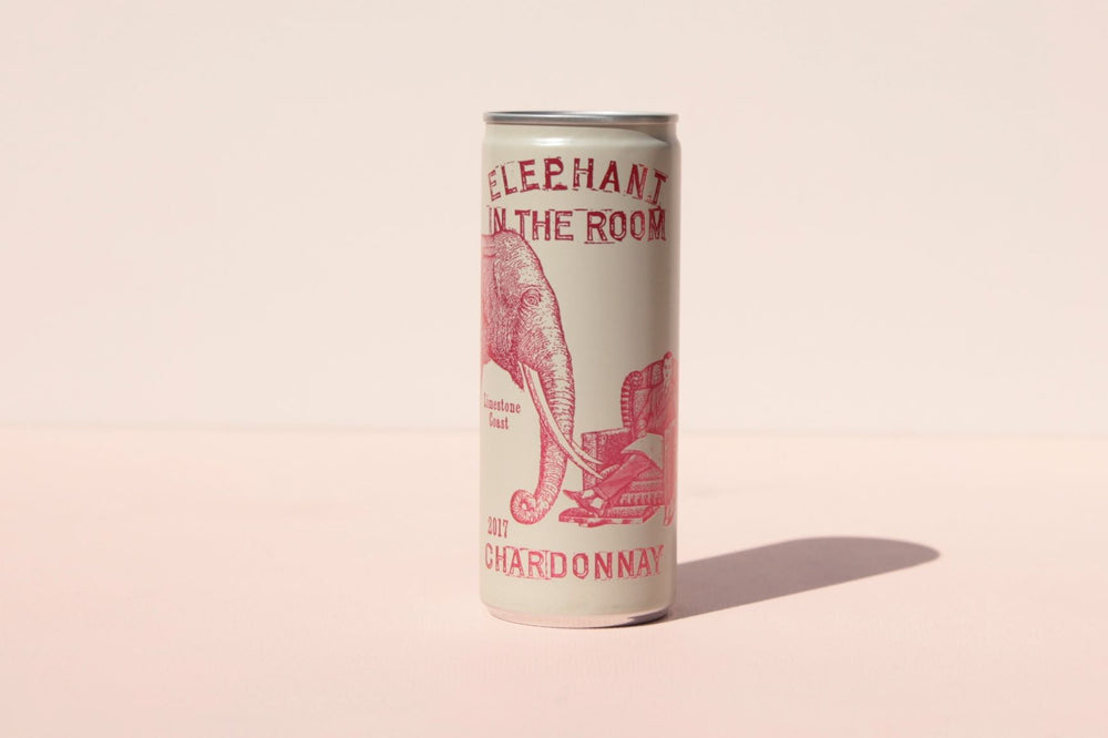 Elephant In The Room Chardonnay Can