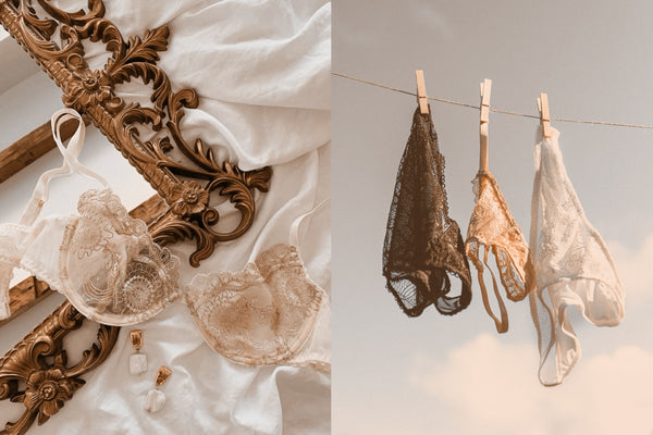 MISTAKES NOT TO MAKE WHEN WASHING YOUR DELICATE LINGERIE.