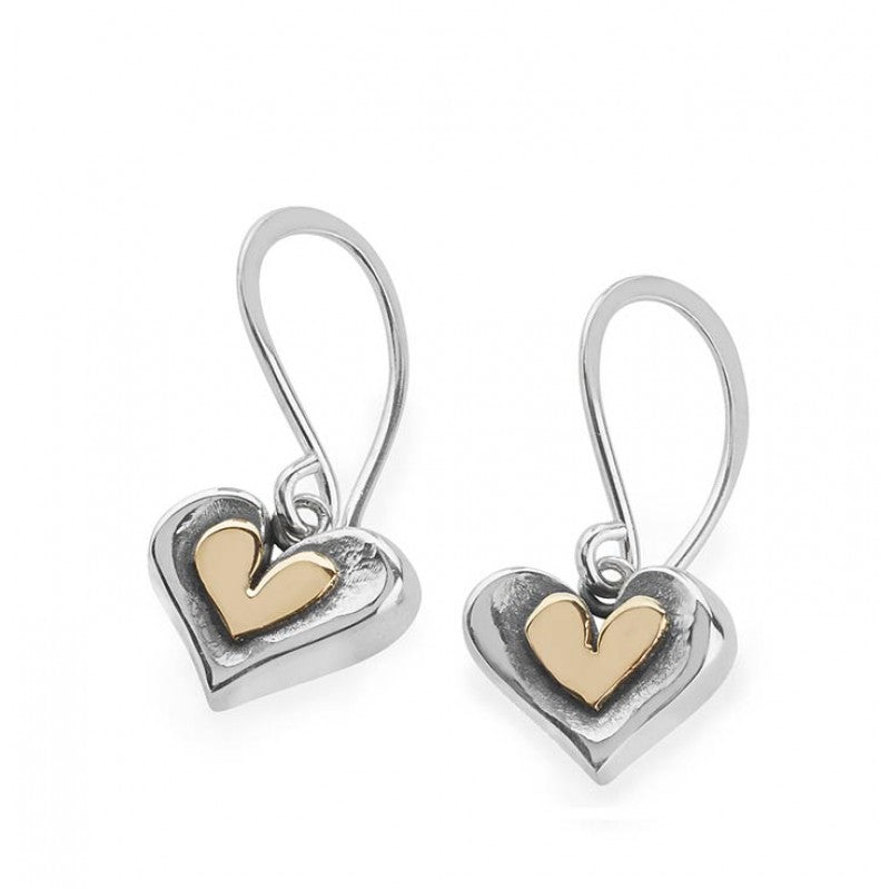 Lucky Penny Heart earrings DPHH
