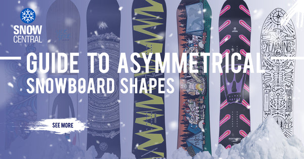 Guide To Asymmetrical Snowboard Shapes