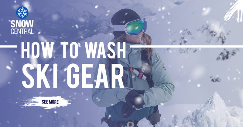 How To Wash Ski Gear