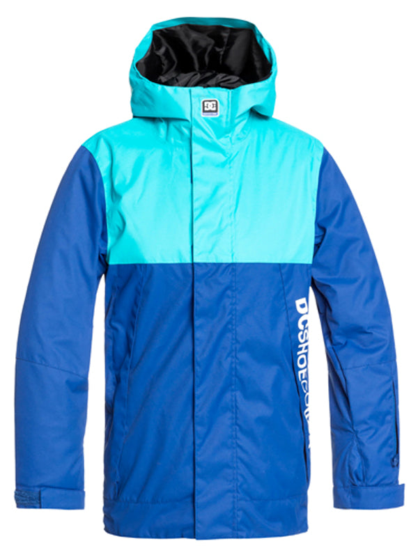 DC Defy Youth Jkt Blue