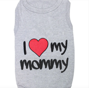 I love my Mommy Tee Shirt 4 XL
