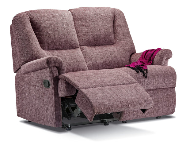 Milburn Fabric 2 Seater Sofa