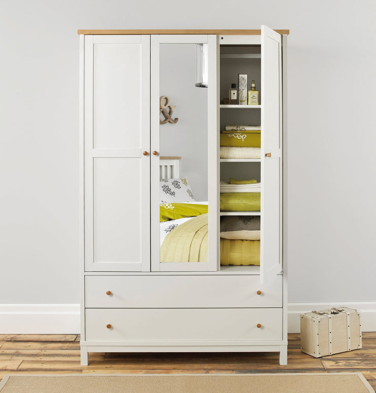 Pacific Two Tone Triple Wardrobe