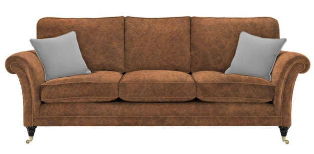Parker Knoll Burghley Leather Grand Seater Sofa