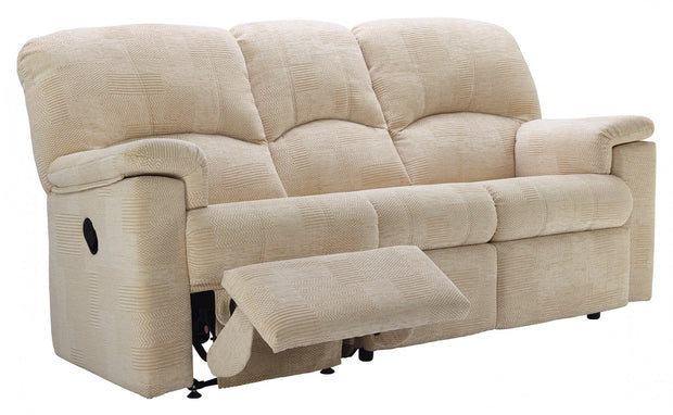 G Plan Chloe Fabric 3 Seater Recliner
