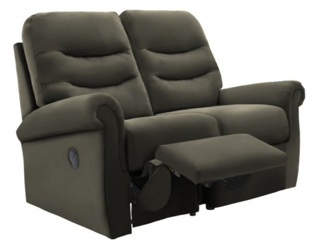 G Plan Holmes Leather 2 Seater Recliner