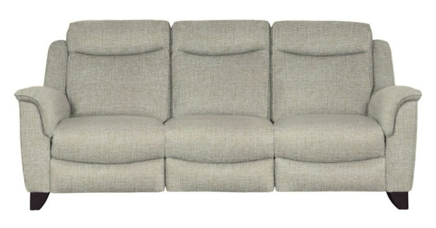Parker Knoll Manhattan Fabric 3 Seater Recliner Sofa