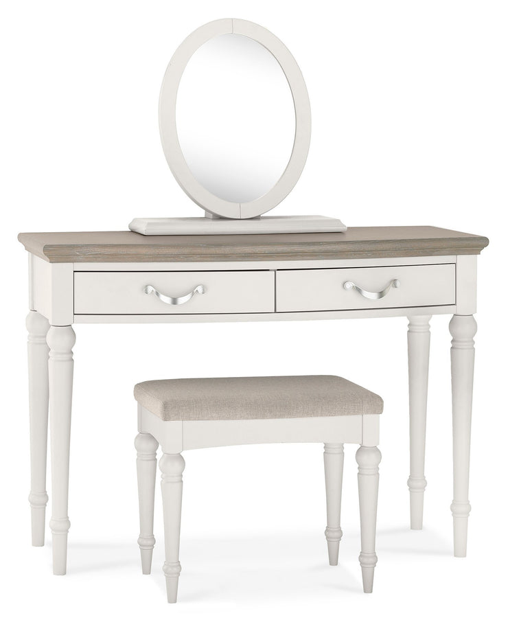Geneva Grey Washed Oak & Soft Grey Dressing Table