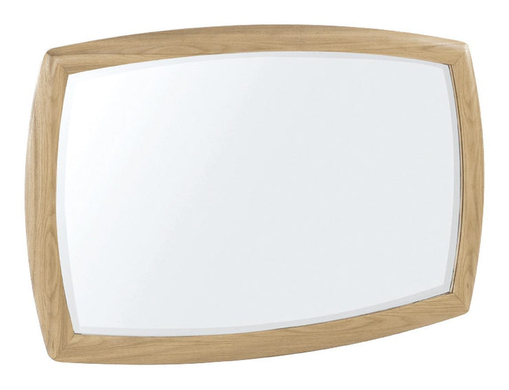 Nathan Shades Oak Shaped Wall Mirror