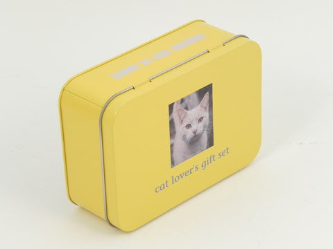 Cat Lover's Gift Set - Gift in a tin