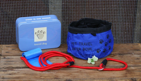 Travel Dog - Gift in a tin